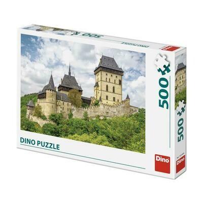 PUZZLE 500 pcs - Castelo Karlstein- DINO