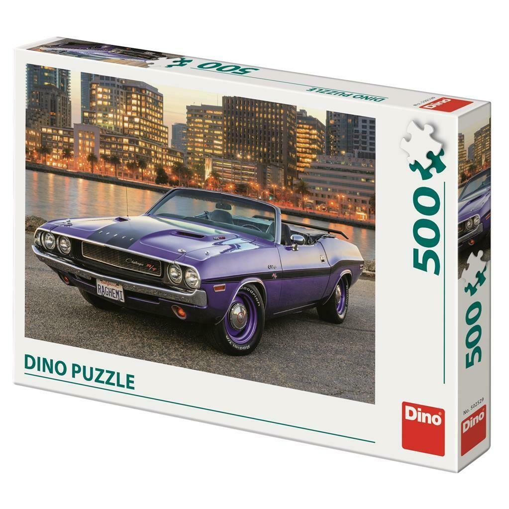 PUZZLE 500 pcs - Dodge - DINO
