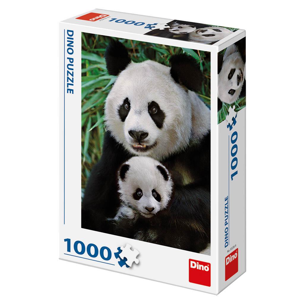 PUZZLE 1000 pcs - Panda - DINO