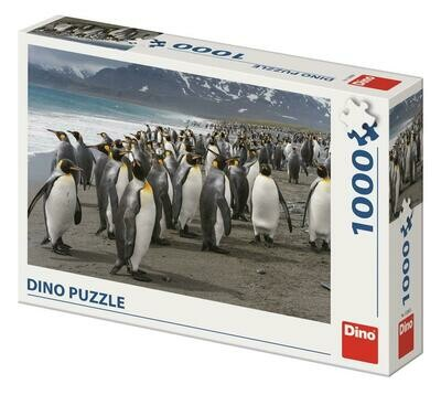 PUZZLE 1000 pcs - Pinguins - DINO