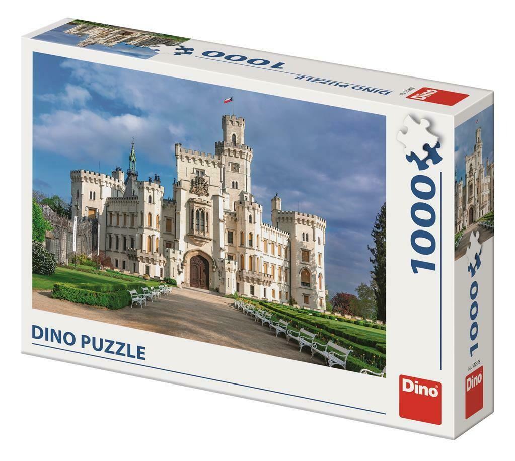 PUZZLE 1000 pcs - Castelo de Hluboká - DINO