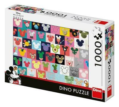 PUZZLE 1000 pcs - Orelhas Mickey - DINO