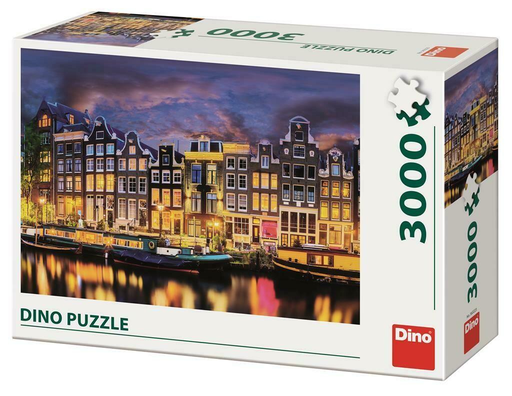 PUZZLE 3000 pcs - Amesterdão - DINO