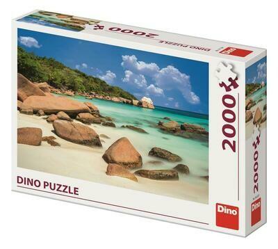 PUZZLE 2000 pcs - Praia - DINO