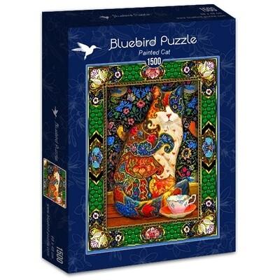PUZZLE 1500 pcs - Gato Pintado - BLUEBIRD