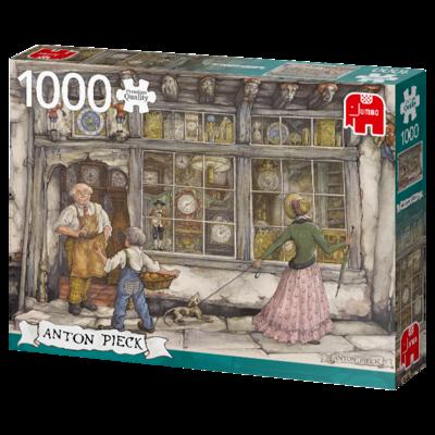 PUZZLE 1000 pcs - The Clock Shop  - JUMBO