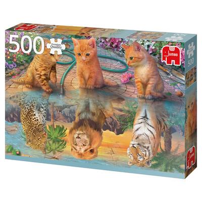 PUZZLE 500 pcs - Sonho de Gatinhos  - JUMBO