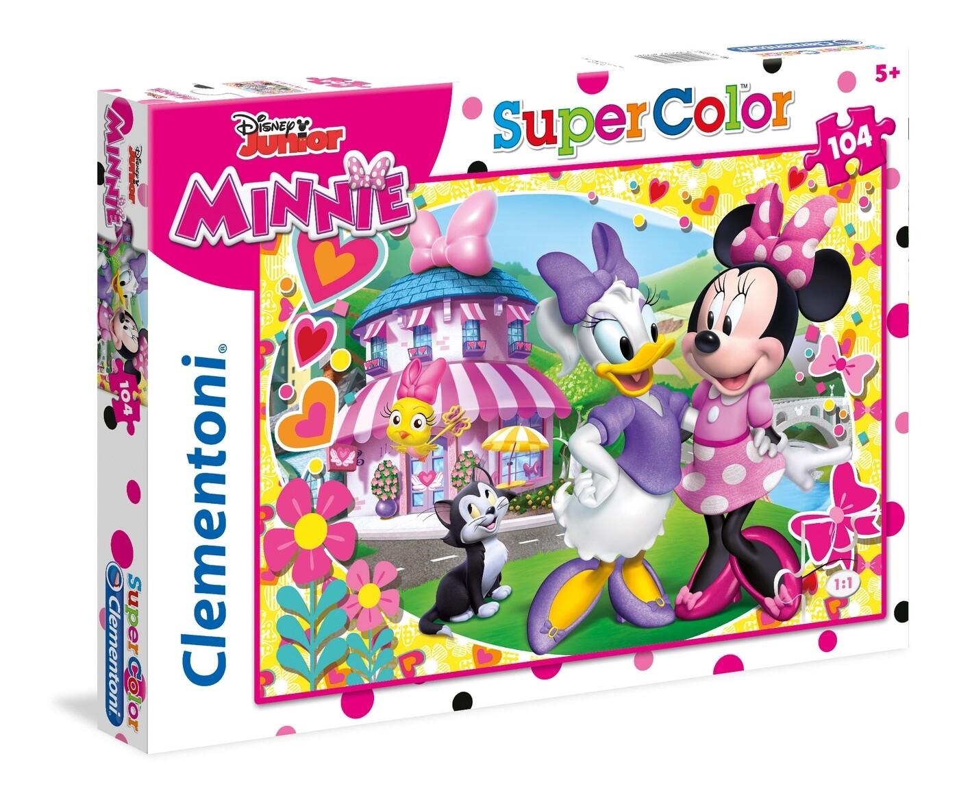 PUZZLE Super 104 pcs Minnie - Disney -- CLEMENTONI