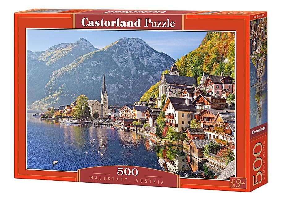 PUZZLE 500 pcs - Postcard from Hallstatt - CASTORLAND