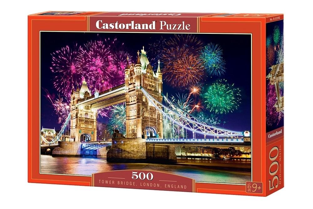 PUZZLE 500 pcs - Tower Bridge - Londres  - CASTORLAND