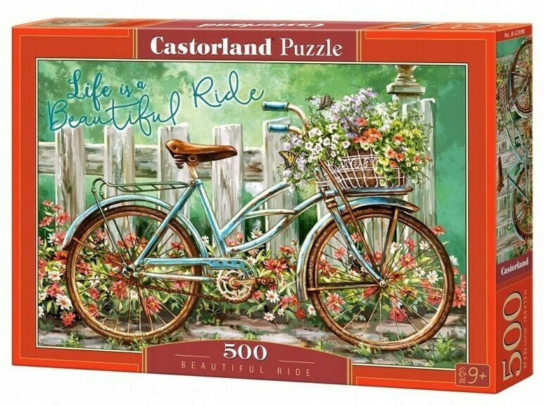 PUZZLE 500 pcs - Beautiful Ride  - CASTORLAND