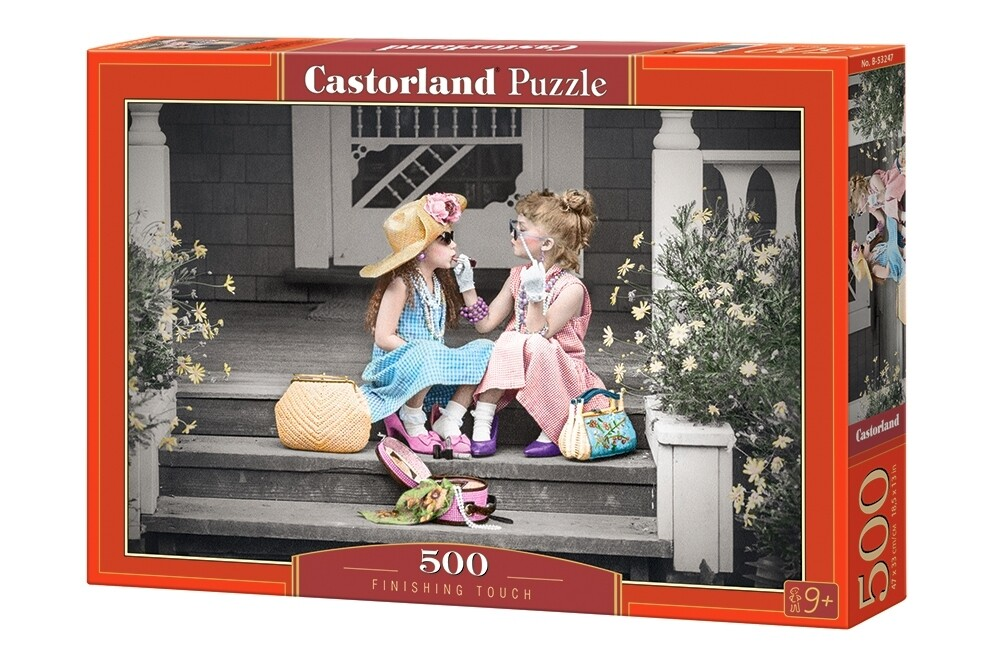 PUZZLE 500 pcs - Retoque Final  - CASTORLAND