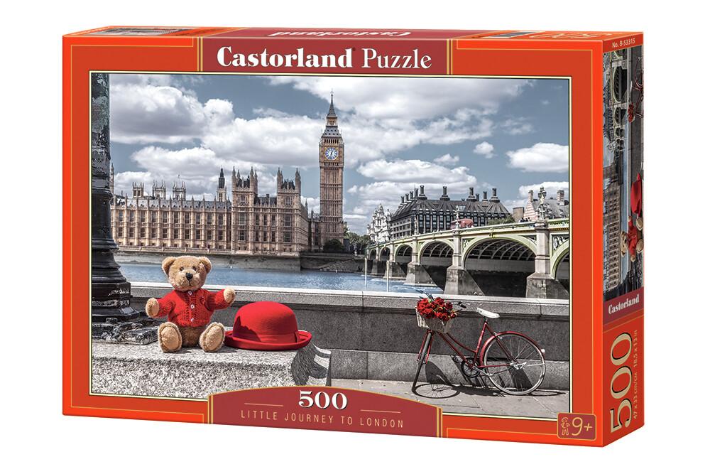 PUZZLE 500 pcs - Little Journey to London  - CASTORLAND