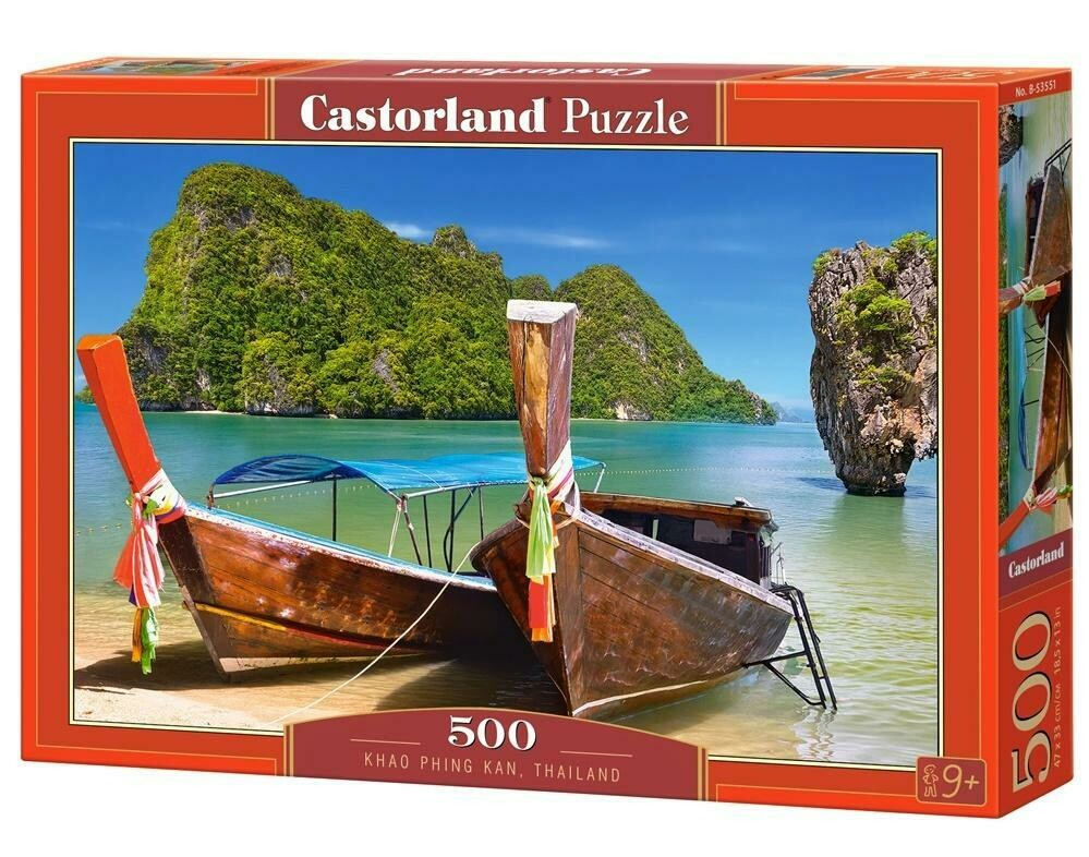 PUZZLE 500 pcs - Khao Phing Kan - CASTORLAND