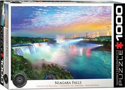 PUZZLE 1000 pcs Cataratas do Niagara - Eurographics