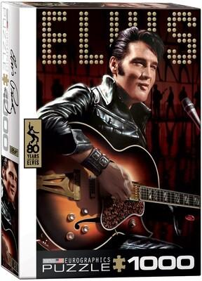 PUZZLE 1000 pcs - Elvis Presley - Eurographics