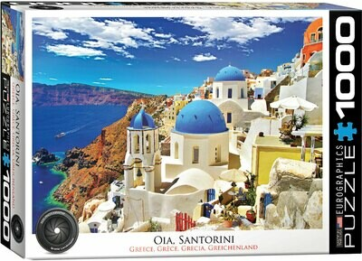 PUZZLE 1000 pcs Santorini - Eurographics