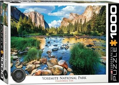 PUZZLE 1000 pcs Yosemite National Park - Eurographics