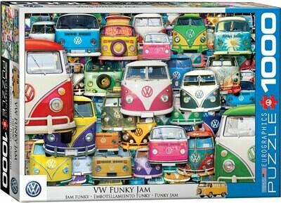 PUZZLE 1000 pcs VW Funky Jam - Eurographics