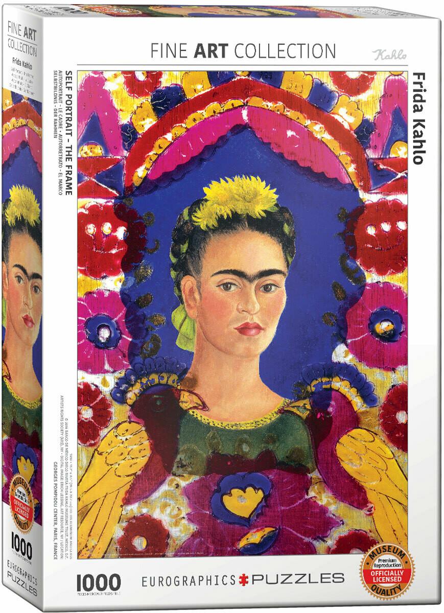 PUZZLE 1000 pcs Frida Kahlo - Auto-Retrato - Eurographics