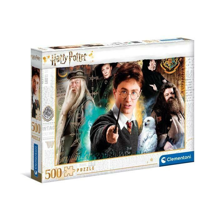 PUZZLE 500 Harry Potter - CLEMENTONI