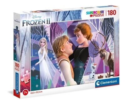 PUZZLE Super 180 pcs Frozen 2 - CLEMENTONI