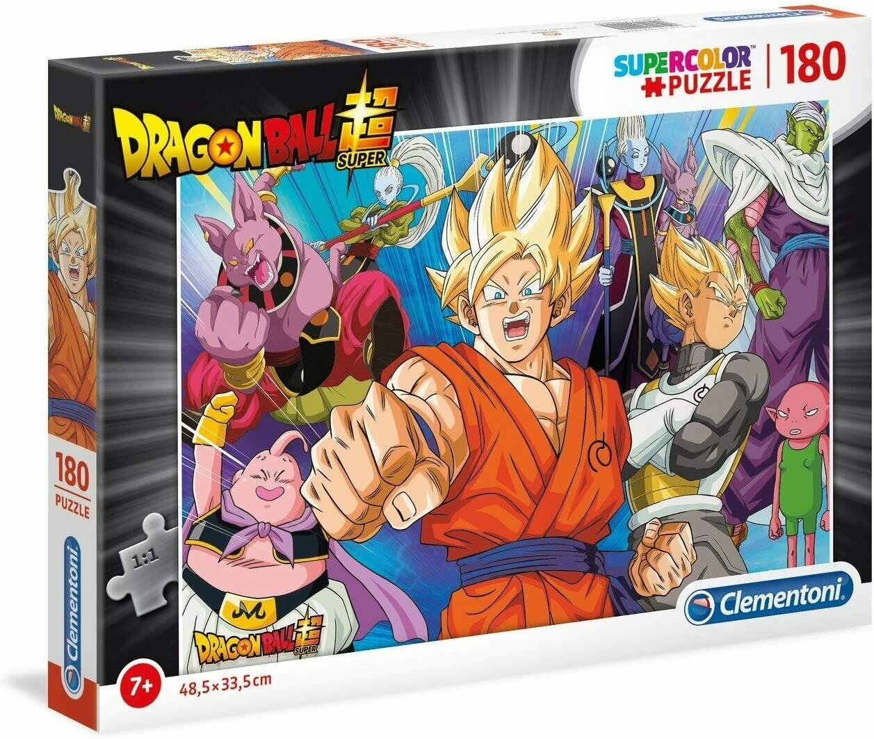 PUZZLE Super 180 pcs Dragon Ball - CLEMENTONI
