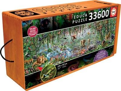 PUZZLE 33600 pcs A Vida Selvagem - EDUCA