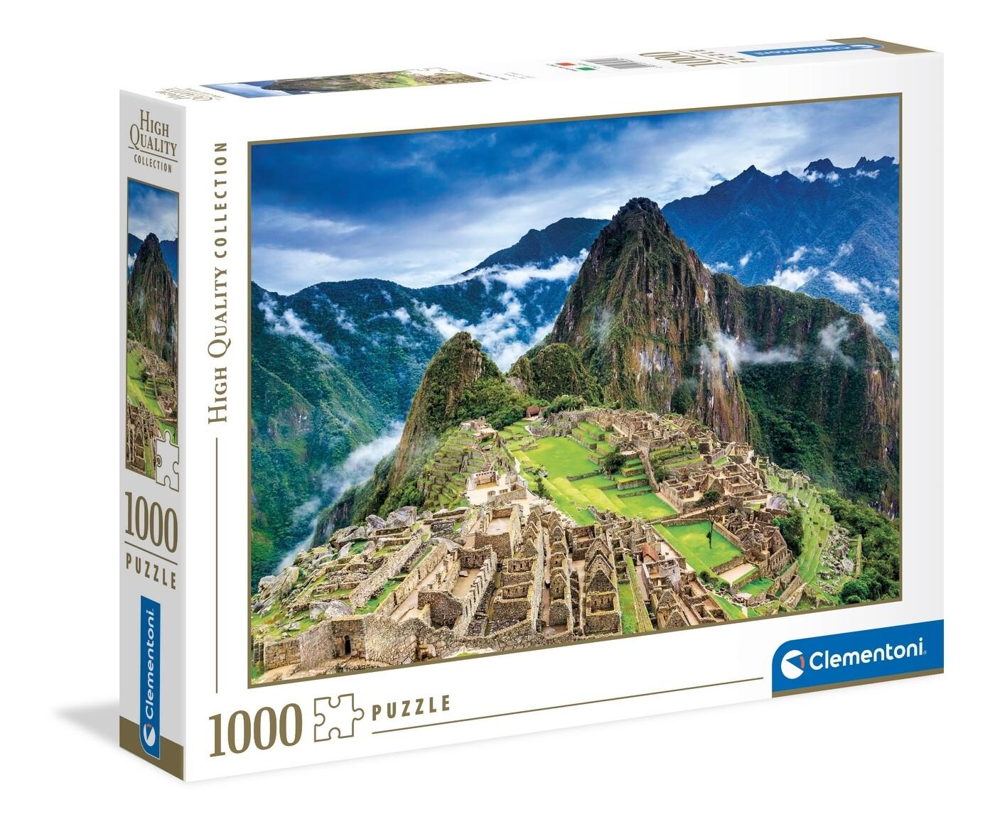 PUZZLE 1000 HQ Machu-Picchu CLEMENTONI