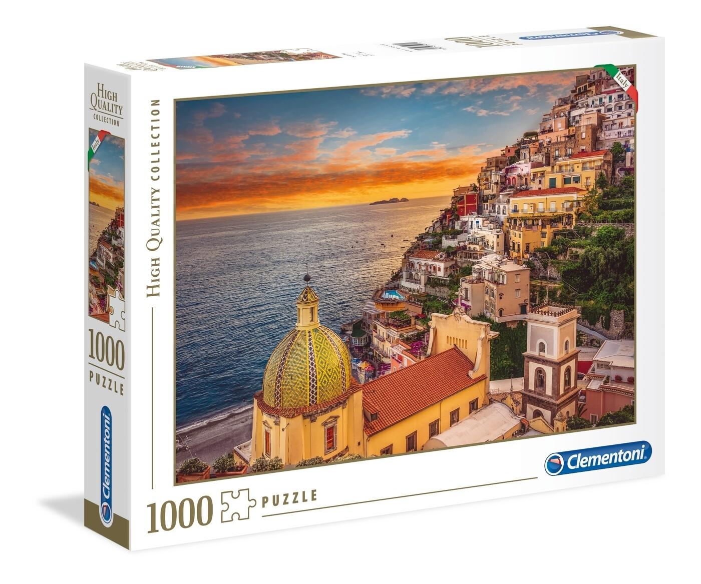 PUZZLE 1000 HQ Positano - CLEMENTONI