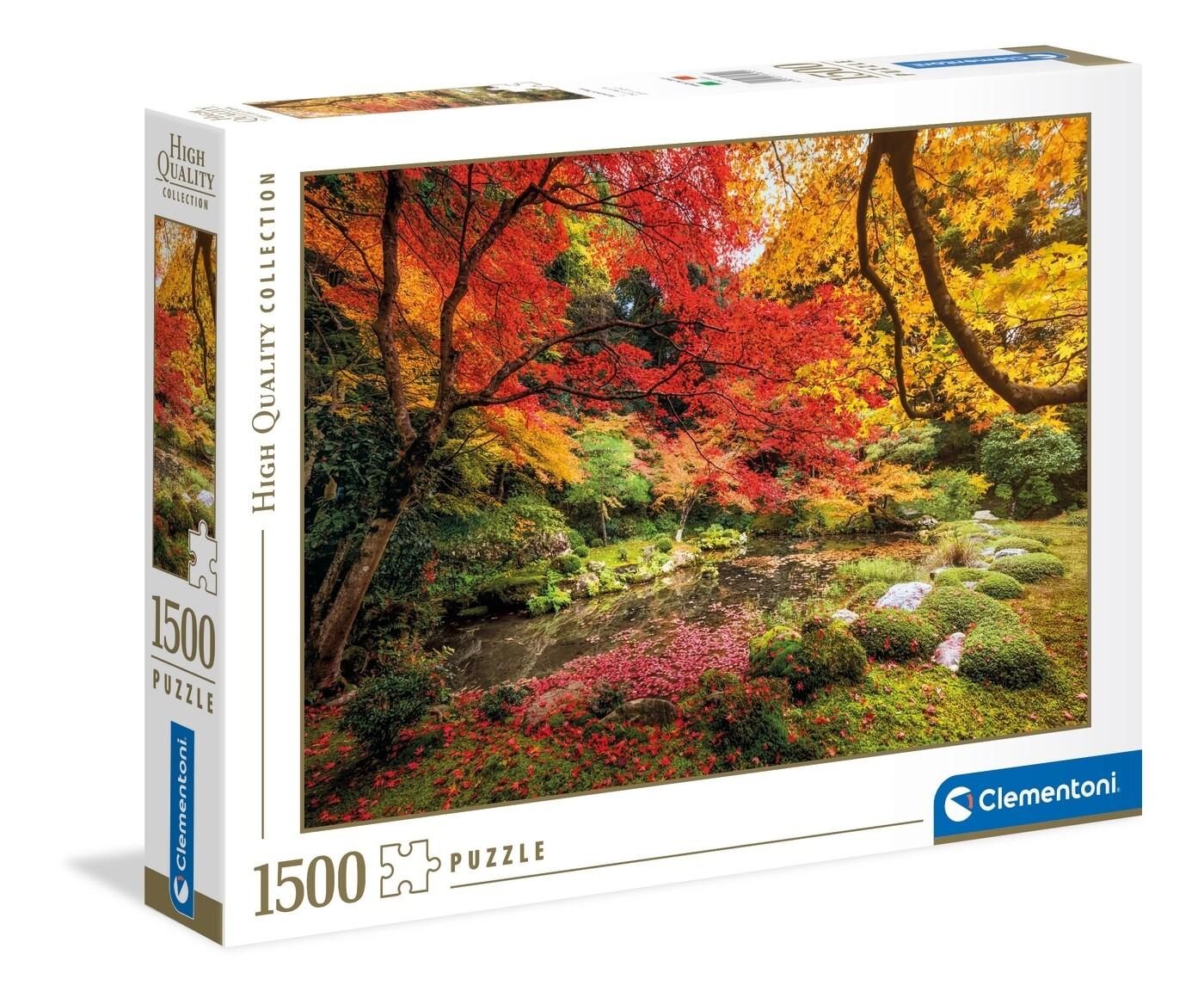 PUZZLE 1500 HQ Autumn Park - CLEMENTONI
