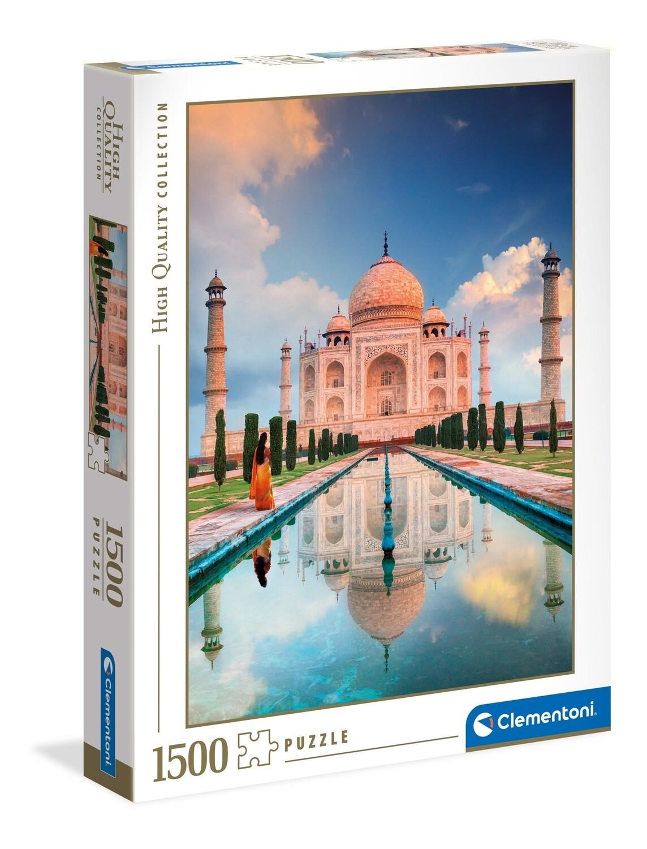 PUZZLE 1500 HQ Taj Mahal - CLEMENTONI