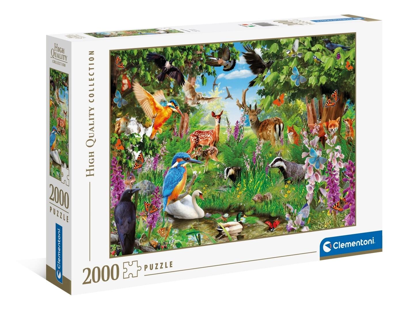 PUZZLE 2000 HQ Fantastic Forest - CLEMENTONI