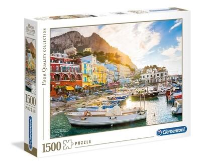 PUZZLE 1500 HQ Capri - CLEMENTONI
