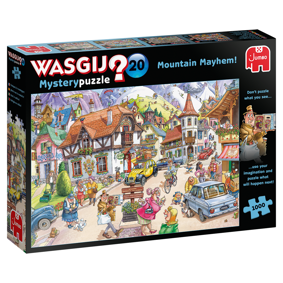 PUZZLE 1000 pcs - Wasgij Mystery puzzle 20 - JUMBO