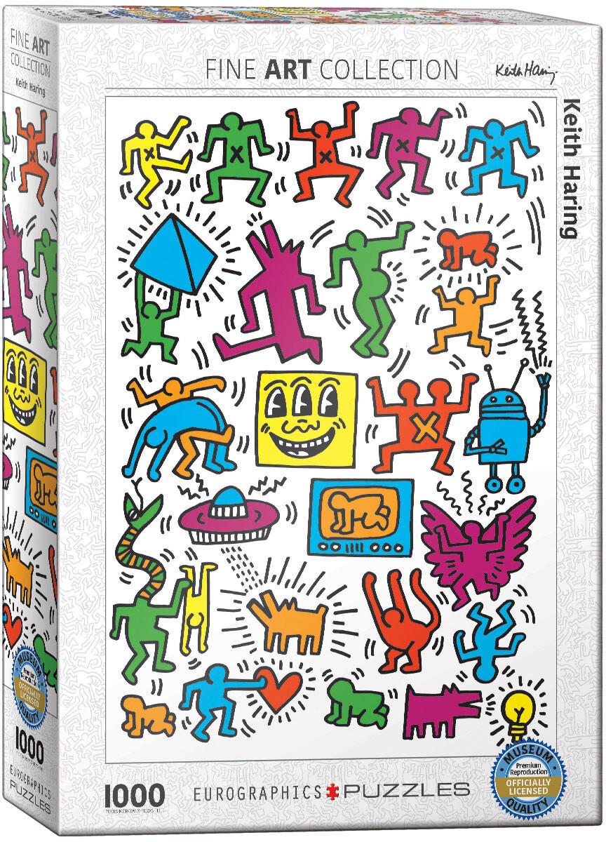 PUZZLE 1000 pcs -  Keith Haring - Eurographics