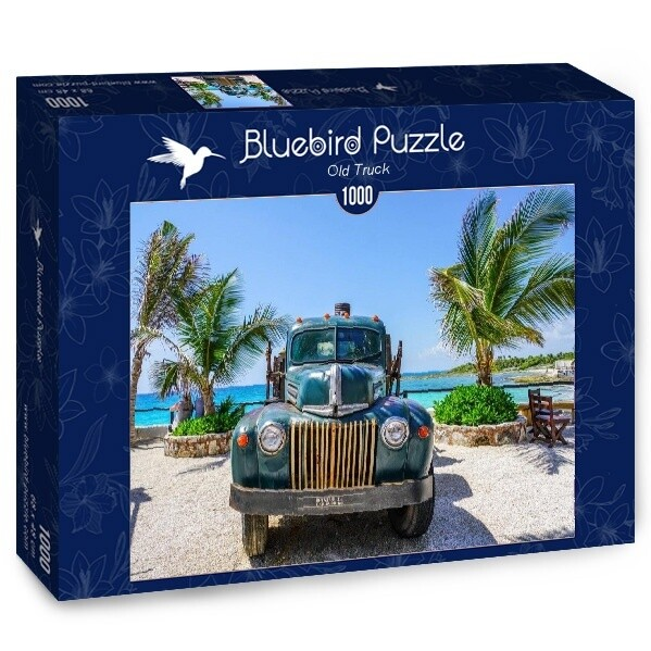 PUZZLE 1000 pcs - Old Truck - BLUEBIRD