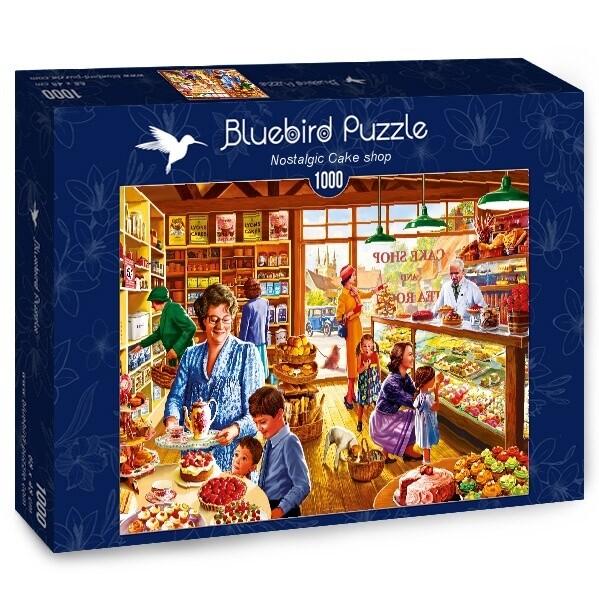 PUZZLE 1000 pcs - Pastelaria - BLUEBIRD