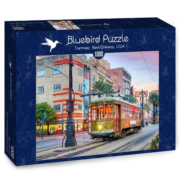 PUZZLE 1000 pcs - Tramway - New Orleans - BLUEBIRD