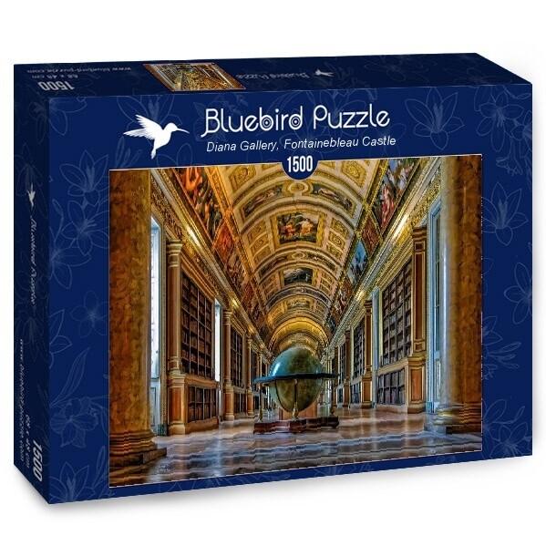 PUZZLE 1500 pcs - Fontainebleau Castle - BLUEBIRD