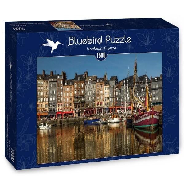 PUZZLE 1500 pcs - Honfleur - França - BLUEBIRD