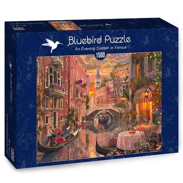 PUZZLE 1500 pcs - Entardecer em Veneza - BLUEBIRD
