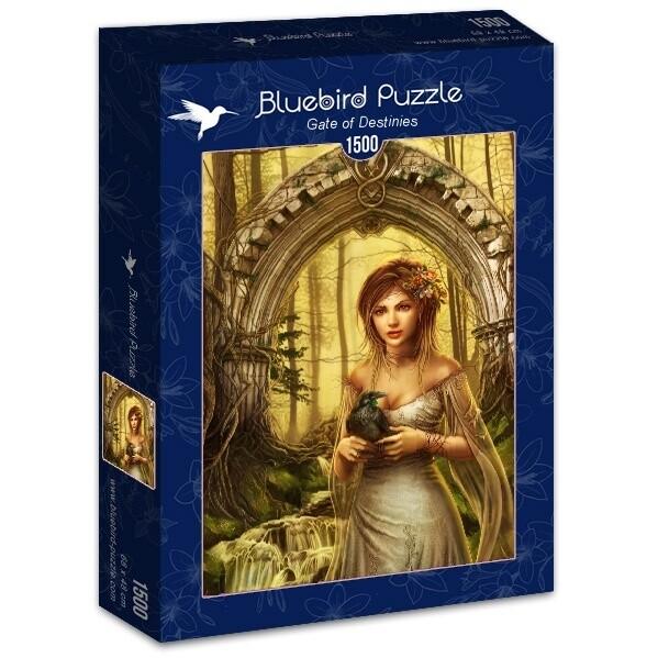 PUZZLE 1500 pcs - Gate of Destinies - BLUEBIRD