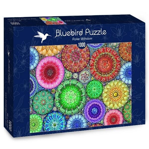PUZZLE 1000 pcs - Rose Window - BLUEBIRD