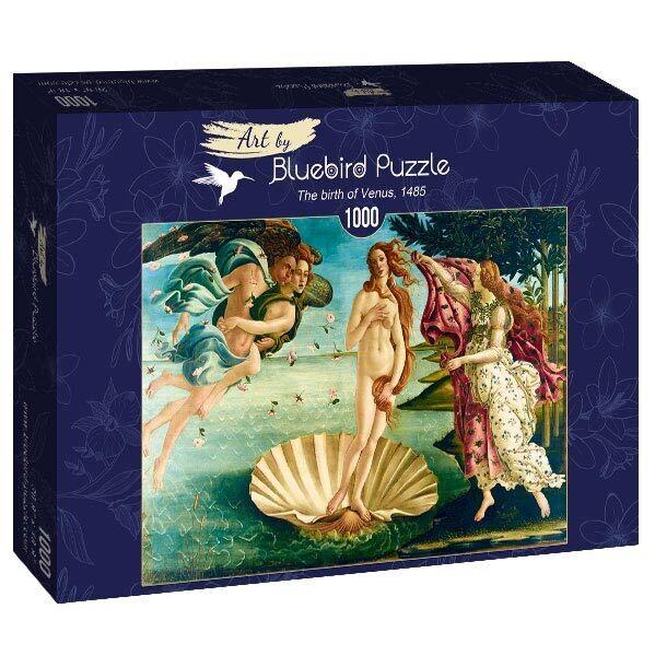 PUZZLE 1000 pcs - Botticelli - The Birth of Venus - BLUEBIRD