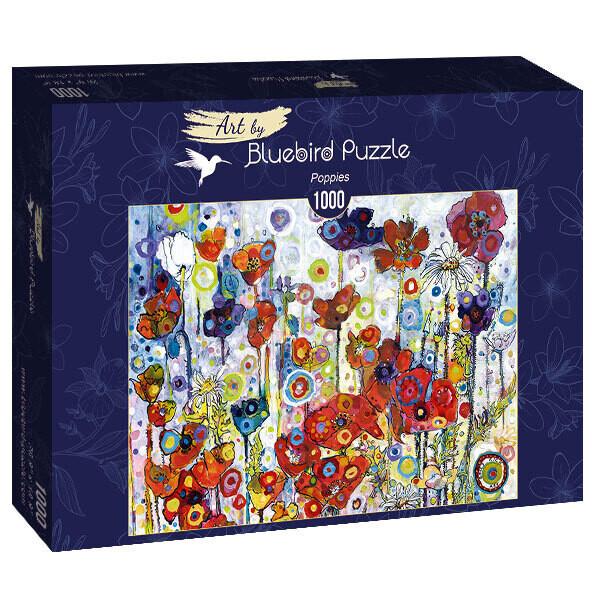 PUZZLE 1000 pcs - Poppies - BLUEBIRD
