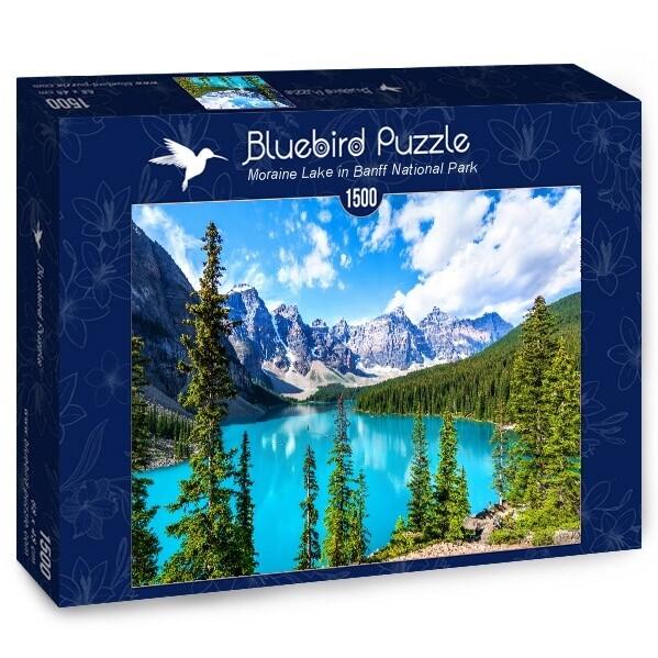 PUZZLE 1500 pcs - Moraine Lake - BLUEBIRD