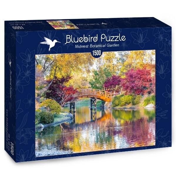 PUZZLE 1500 pcs - Midwest Botanical Garden - BLUEBIRD