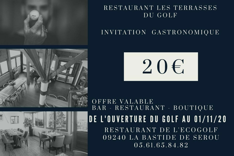 Invitation Gastronomique
