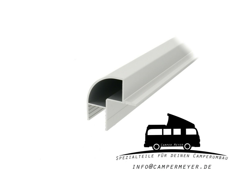 Aluminiumprofil für Möbelbau: 90° Ecke mit Türanschlag
